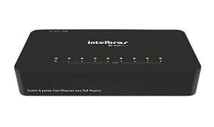 Switch 8 Portas SF 800Q+ 10/100MBPS - Intelbras