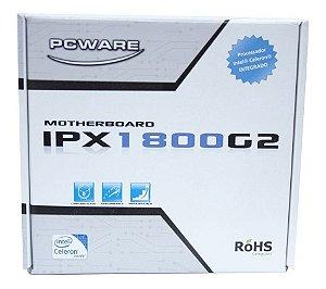 Placa Mãe Integrada Ipx1800 G2+ Dualcore 2.4 - Pc Ware