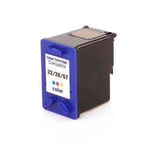 Cartucho de Tinta Compatível HP 22/28/57 (9352/8728/6657) Colorido 14ml