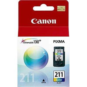 Cartucho de Tinta Original Canon 211 (Cl211) Color 9ml