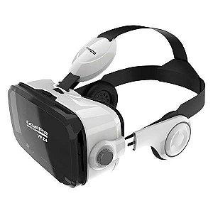 Óculos de Realidade Virtual 3d Goal Pro Vr Z6 com Fone de Ouvido - GoalPro