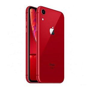 "iPhone XR Apple 128GB Vermelho 4G Tela 6,1"" Retina Câmera 12MP + Selfie 7MP iOS12 Proc. Chip A12"