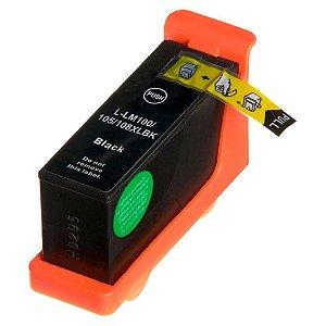 Cartucho de Tinta Compatível Lexmark 100xl (14N1068) Preto 21,5ml