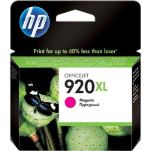 Cartucho de Tinta Original HP 920Xl (Cd973) Magenta 6ml