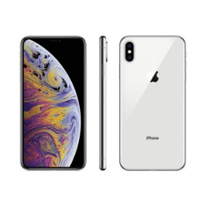 "iPhone XS Max Apple 256GB Prata 4G Tela 6,5"" Retina - Câmera Dupla 12MP + Selfie 7MP iOS 12"