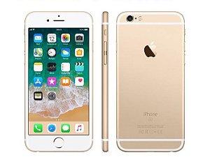 """iPhone 6s Apple 32GB Dourado 4G Tela 4.7"""" Retina Câmera 12MP + Selfie 5MP iOS 11 Proc. A9"""