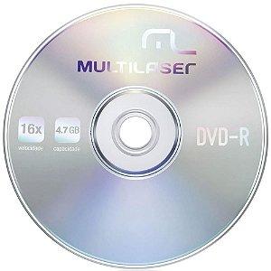 Midia de dvd  4.7 16X Multilaser