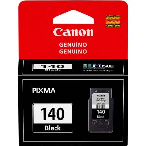 Cartucho de Tinta Original Canon 140 (Pg140) Preto 8ml