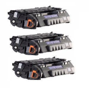 Kit 03 Cartuchos de Toner Compatível HP Q5949X Q7553X
