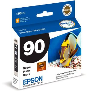 Cartucho de Tinta Original Epson 90 (To90) Preto 5ml