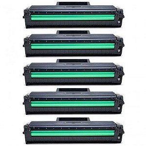 KIT 05 Cartuchos de Toner Compatível Samsung Mltd-101