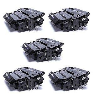Kit 05 Cartuchos de Toner Compatível HP Ce-255X