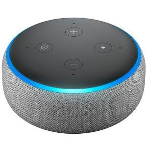 Echo Dot Alexa Smart Speaker 3ª Geração Preto - Amazon