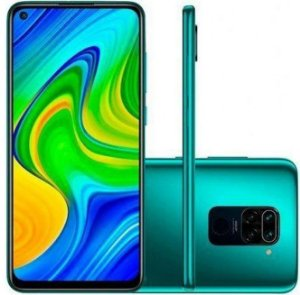 Smartphone Xiaomi Redmi Note 9 Dual Chip 128GB (Forest Green) Verde