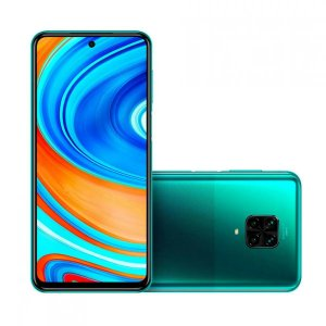 Smartphone Xiaomi Redmi Note 9 Pro Dual Chip 128GB (Tropical Green) Verde