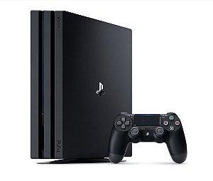 Console Playstation 4 Pro 1tb CUH-7215b + Controle Wireless DualShock 4 - Sony