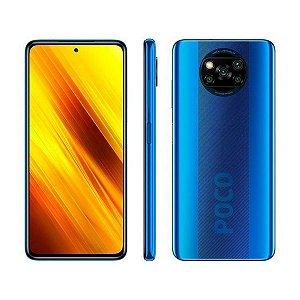 Smartphone Xiaomi Poco X3 128GB (Cobalt Blue) Azul