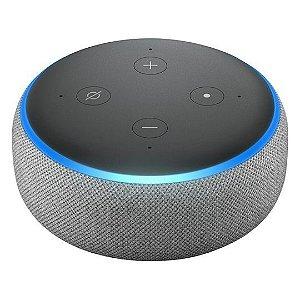 Echo Dot Alexa Smart Speaker 3ª Geração Cinza - Amazon