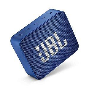 Caixa de Som JBL GO 2 Bluetooth à Prova D'água Azul