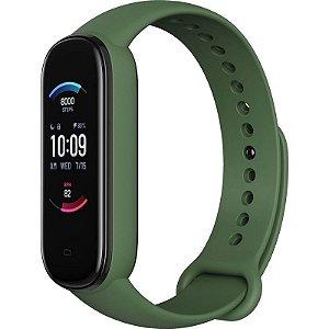 Smartwatch Amazfit Band 5 A2005 com Alexa e Oxímetro - Olive