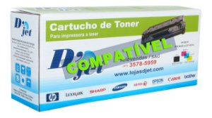 Cartucho de Toner Compatível Brother Tn-210 Bk Preto