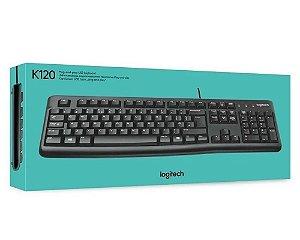 Teclado Keyboard ABNT2 K120 Preto - Logitech