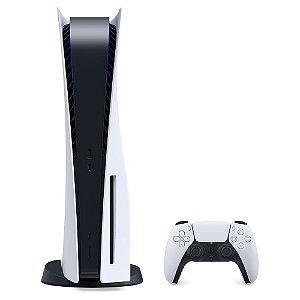 Console Sony Playstation 5 825gb Branco Com Memória RAM de 16GB.