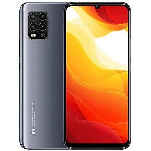 "Smartphone Xiaomi Mi 10 Lite 5G 128GB 6GB de RAM Câmera 48MP Tela de 6,57"" Dual SIM – (Cosmic Grey) Cinza"