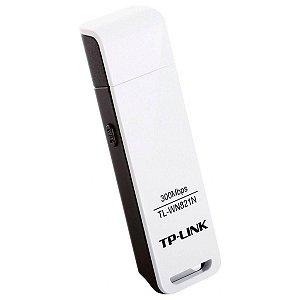 Adaptador USB Wireless N 300Mbps, TP-Link, TL-WN821N