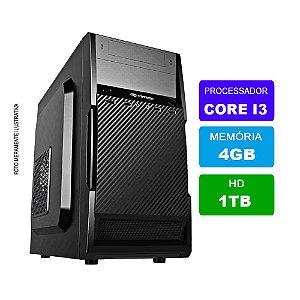 Microcomputador Intel Core i3 3.0Ghz 4gb Ram HD 1TB