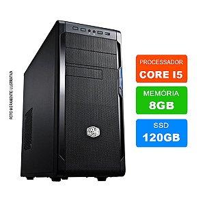 Microcomputador Intel Core i5 3.0Ghz 8gb Ram HD 120GB SSD