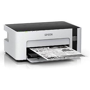 Impressora Tanque de Tinta Ecotank M1120, C11CG96302, Monocromática, Wi-fi, Conexão USB, Bivolt - Epson