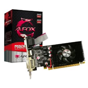 Placa de Vídeo Afox R5 220 Radeon 1GB DDR3 HDMI DVI VGA PCI-E X16 Low Profile- AFR5220-1024D3L9-V2