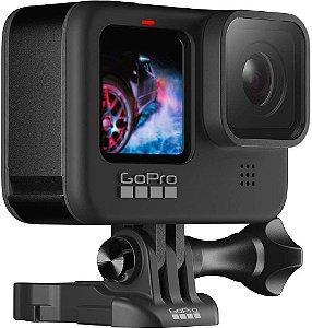 Câmera HERO9 Black à Prova D'água Com LCD Frontal, Vídeo Em 5k, Foto de 20 MP, Transmissão Ao Vivo Em 1080p, Webcam, Hypersmooth 3.0 - GoPro