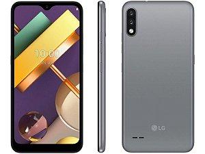"""Smartphone K22+ , 3GB Memória, 64GB armazenamento, Dual Chip Android 10 Tela 6.2"""" Quad Core 4G Câmera 13MP+2MP / Titan - LG"""