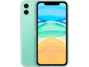"IPhone 11, 64GB Verde com Tela de 6,1""  E Câmera De 12MP / IOS - Apple"
