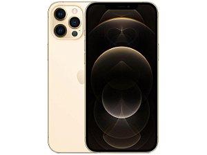"""iPhone 12 Pro Max Dourado, com Tela de 6,7"""", 5G, 128 GB e Câmera Tripla de 12MP - Apple"""