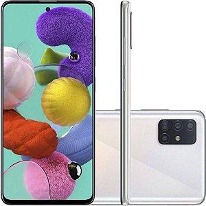 "Smartphone Galaxy A51, 128GB, 4GB RAM, Câmera de 48MP, Tela 6.5"", Cinza- Samsung"