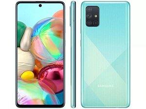 Smartphone Galaxy A71, Octa Core, Dual Chip,128GB, 64MP, Tela 6.7´, 6GB RAM, Azul - Samsung
