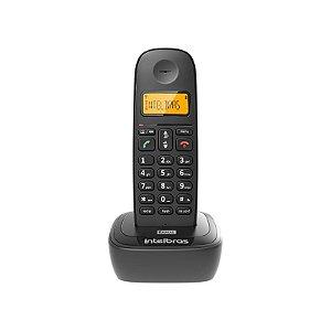 Telefone Sem Fio TS 2511 Com Identificador De Chamadas e Display Luminoso, Preto - Intelbras