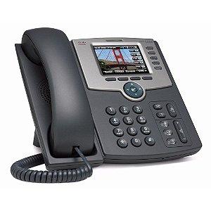 Telefone Voip Linhas Simultâneas Ip Phone Fixo Com Identificador de Chamadas / Linksys SPA525G - Cisco