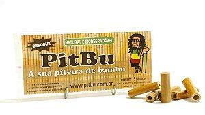 Piteiras naturais de bambu