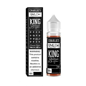 Líquido Charlies - King Bellman Tacacco & Vanilla