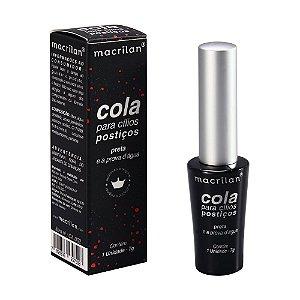 Cola Para Cílios Postiços Preto – Macrilan