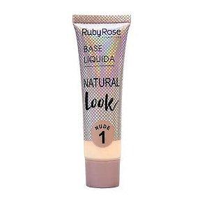 Base Líquida Natural Look (Nude) – Ruby Rose