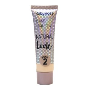 Base Líquida Natural Look Bege – Ruby Rose