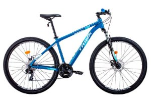 Bicicleta Trinx Alumínio Aro 29 M100 Max Freios Mecânico 24v - Azul