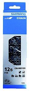 Corrente Shimano Deore Xt 12v M8100 138 Elos + Quicklink