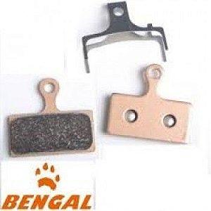Pastilha de Freio Bengal Sinterizada Compatível Shimano/Metálica