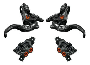 Freios Magura MT7 Orange HC3 Limited Edition - Par